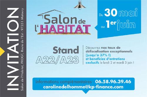 Invitation au salon de l'habitat en Guyane 2014