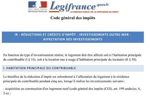 Plafonds loi Girardin sociétés