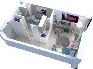 R sidence tudiante l 39 esplanade de la manufacture metz for Loueur en meuble