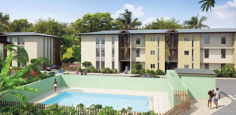 Résidence Mélanis, Cayenne, Guyane