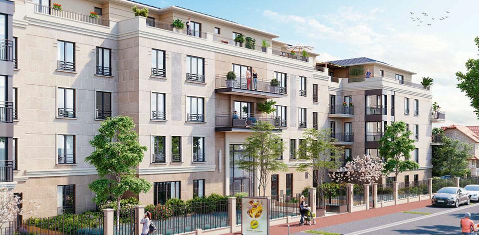 Résidence 1 rue Roussel, Saint-Maur-des-Fossés