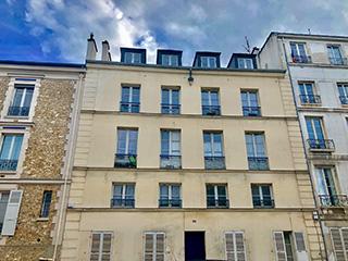 Immeuble rue d'Anjou