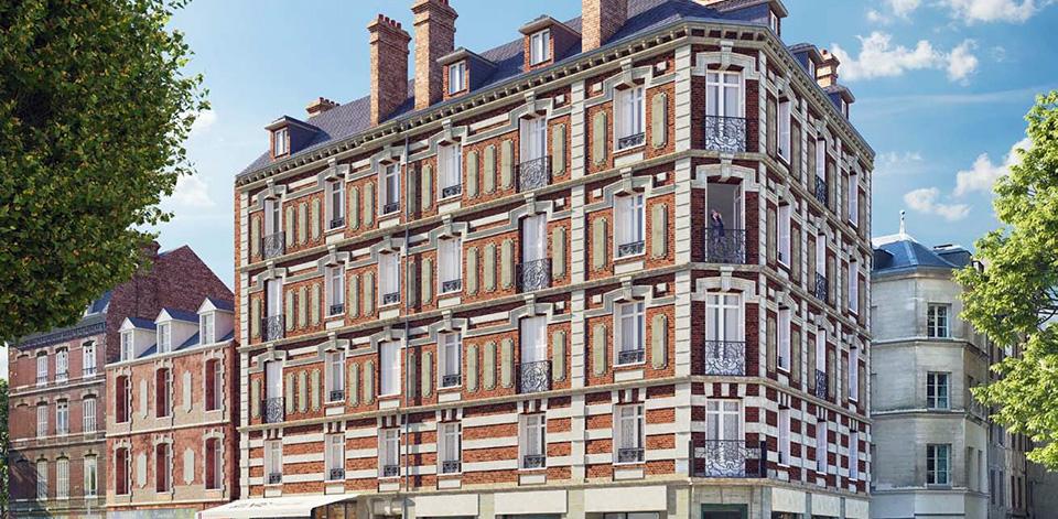 Immeuble Saint-Vivien Rouen