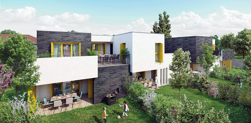 Résidence GreenLine, Sainte-Foy-lès-Lyon