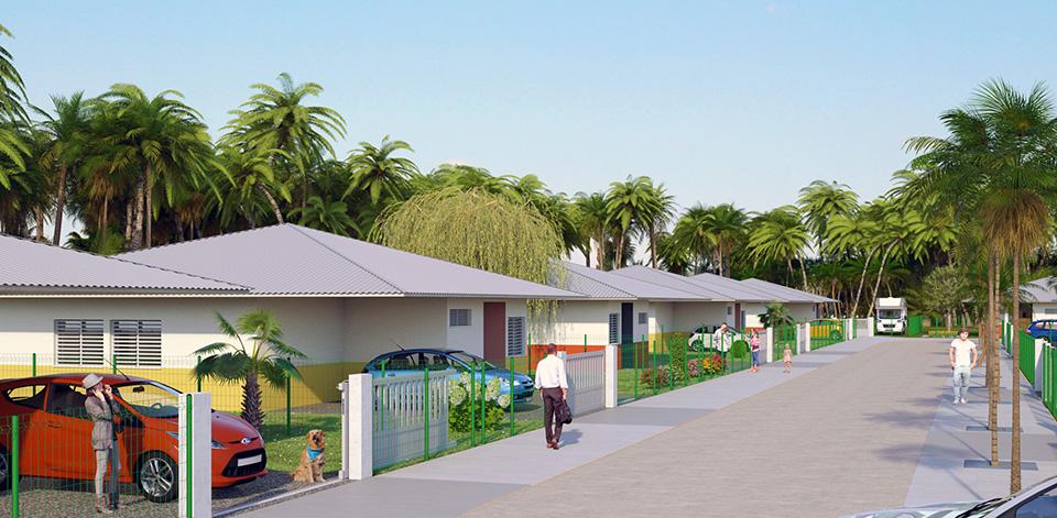 Villas Lana, Matoury, Guyane