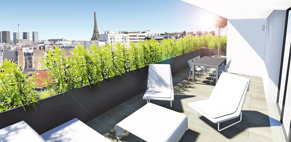 Résidence Desnouettes, Paris 15