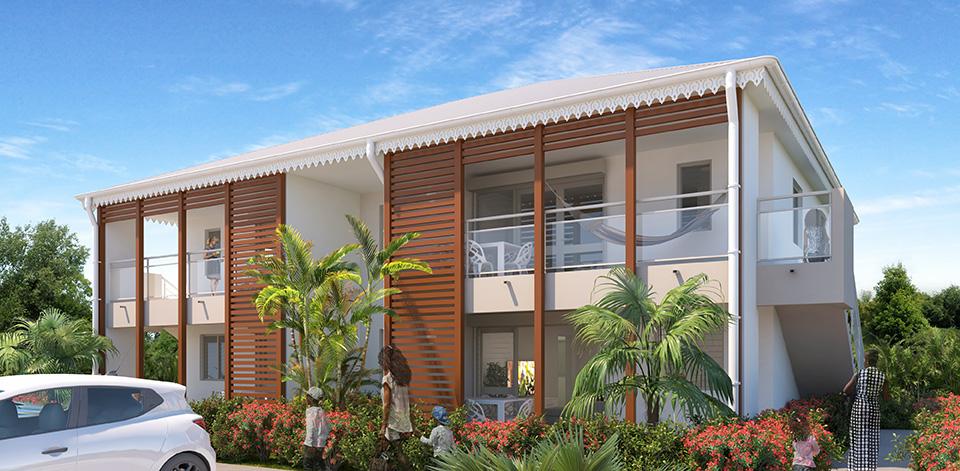 Les terrasses de Saint Jean, Petit-Bourg, Guadeloupe