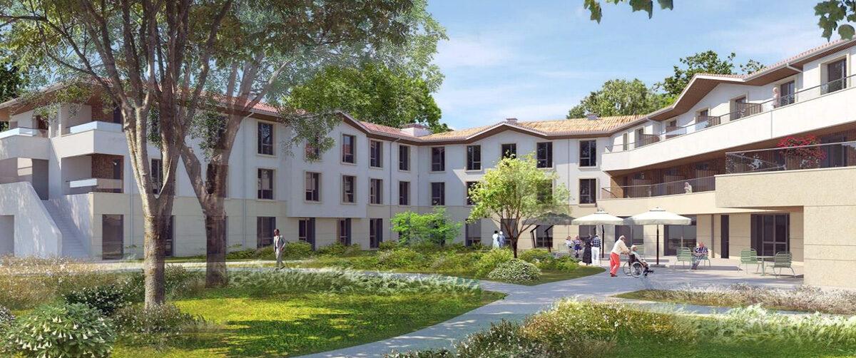 EHPAD La Villa Bourgailh, Pessac