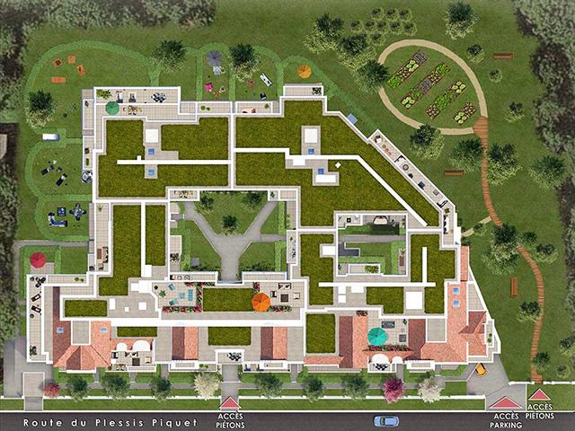 Résidence Route du Plessis Piquet