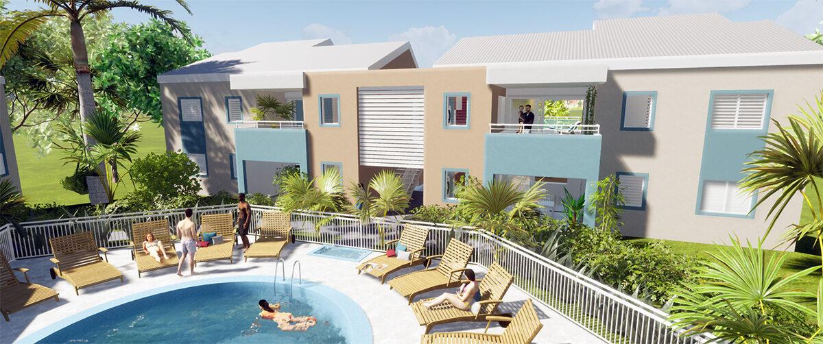Résidence Neptune, Le Gosier, Guadeloupe