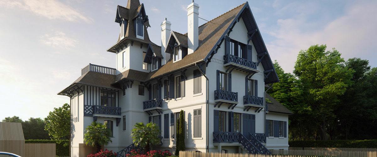 Le Manoir d'Hennequeville, Trouville-sur-Mer